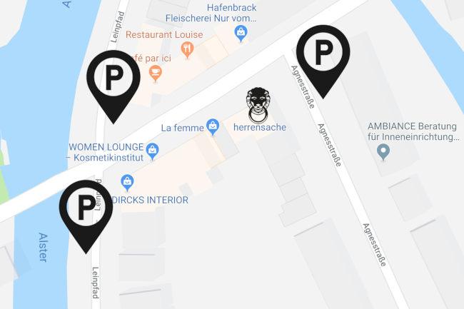 Parkplatz Tipp