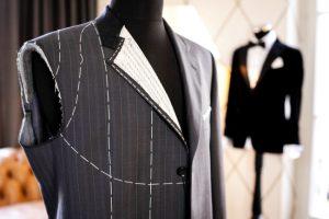 Beispiel Anzug in der Herstellung